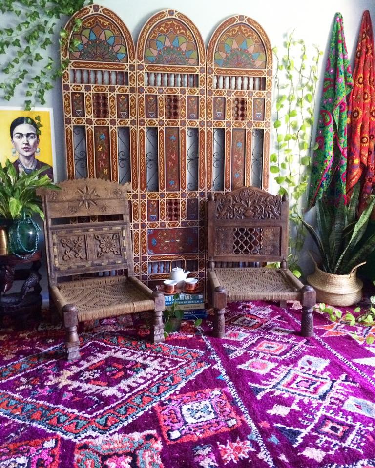 Bohemian Home Styling